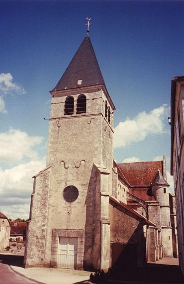 The church of Bagneux-La-Fosse, Champagne