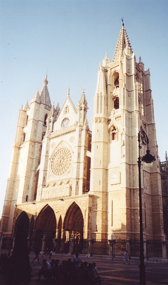 The Cathedral of León