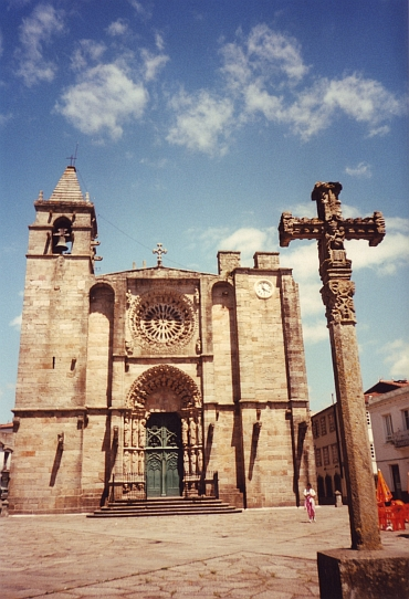 The Church of Noía, Galicia