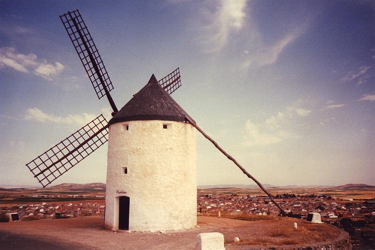 One of the Molinos from Consuegra