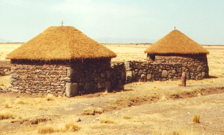 Houses on the Altiplano